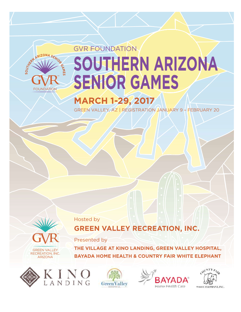 2017 Senior Games Registration