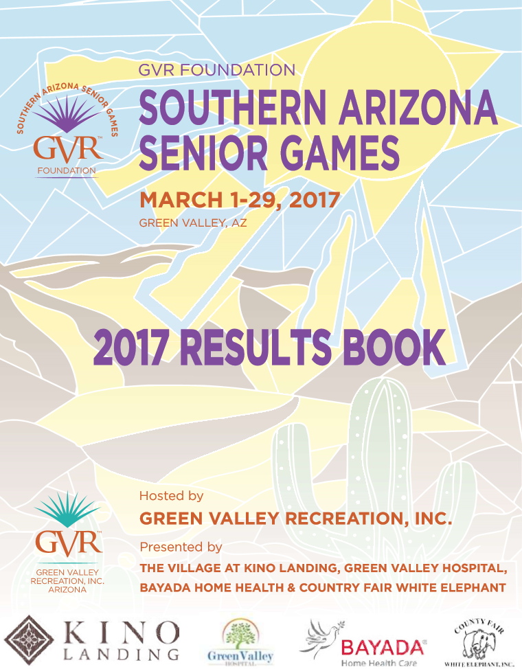 2017 Senior Games Results