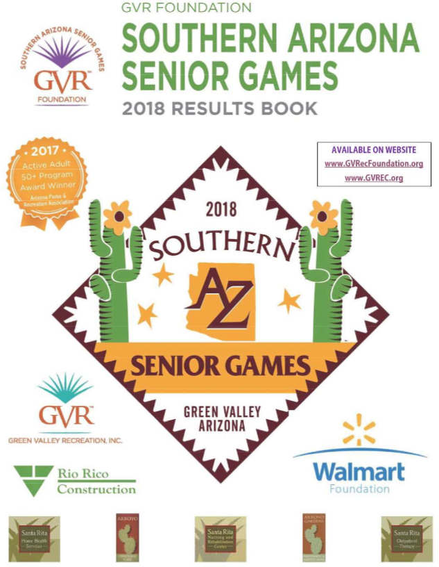 2018 Senior Games Results