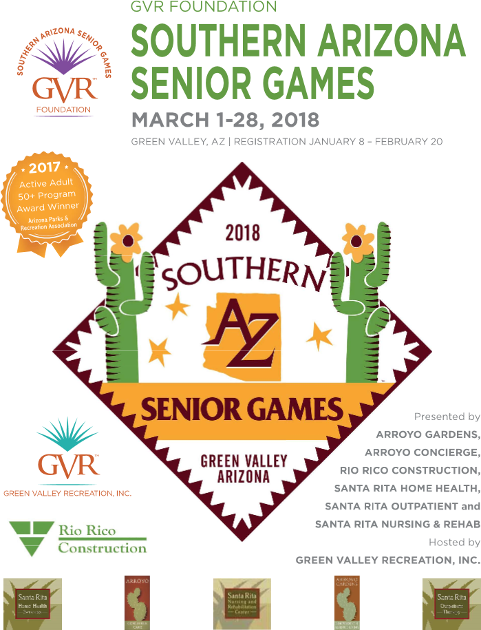2018 Senior Games Registration